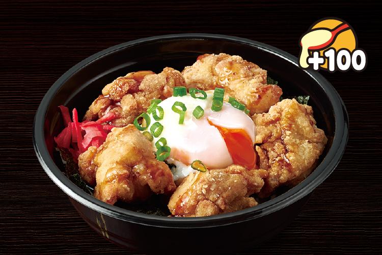 鶏の竜田揚げ丼