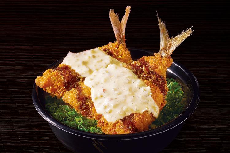 自家製タルタル アジフライ丼